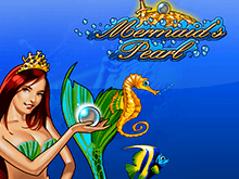 Mermaid's Pearl на деньги в Вулкане